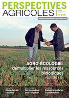 Couverture Perspectives Agricoles 415, octobre 2014