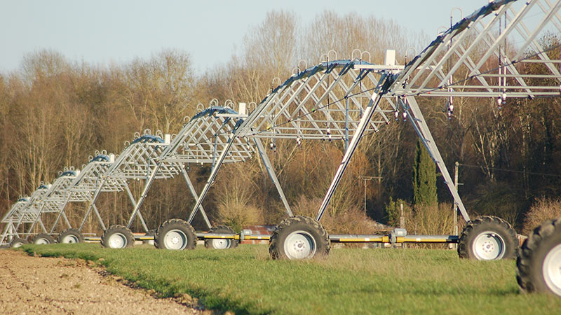 Rampe frontale d'irrigation